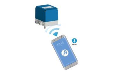 Stellantriebe mit Bluetooth steuern