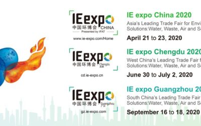 IE expo China 2020: Asia's hub for environmental technologies