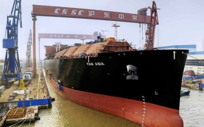 ARCA: Anti surge valve application in China's largest LNG tanker