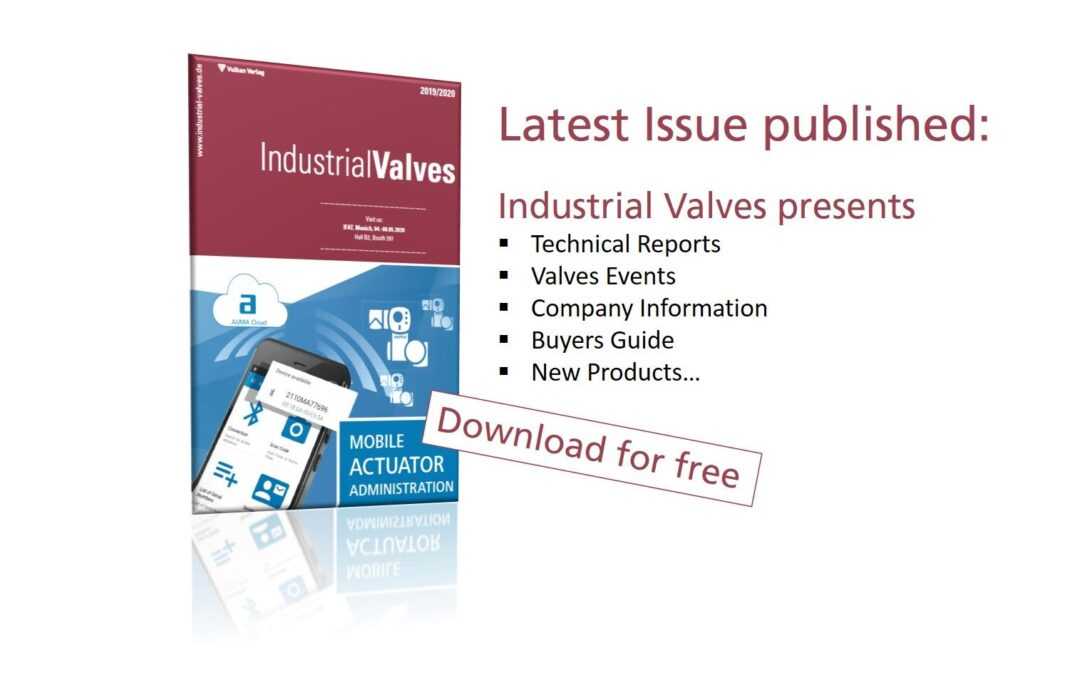 """""""Industrial Valves"""": Latest Issue published"""