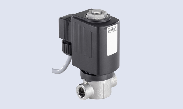 New solenoid valve variant for high-pressure applications