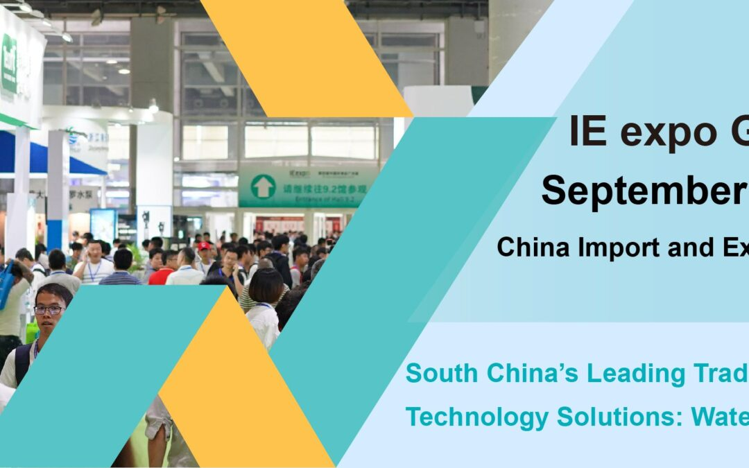3 months counting down for IE expo Guangzhou 2019 to analyze hot environmental issues and explore business opportunities in South China