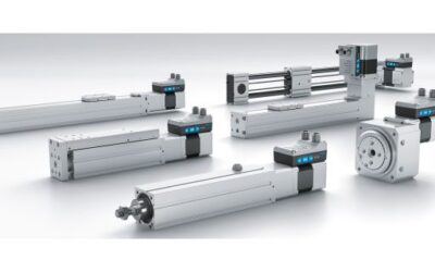 New series of electric drives for plug and work scenarios