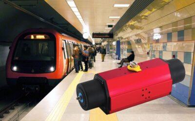 Rotork Antriebe übernehmen lebenswichtigen Feuerschutz in der Istanbuler Metro