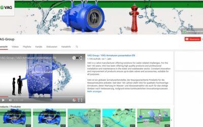 VAG Armaturen: eigener Kanal auf YouTube