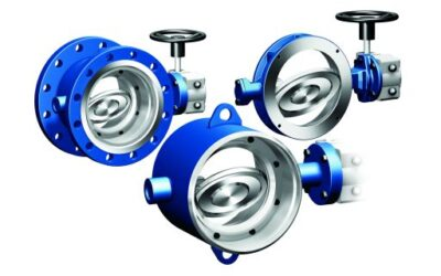 Double eccentric, metal sealing – New High Performance-Valve