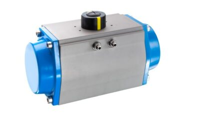 bar: New pneumatic swivel actuator for automating valves