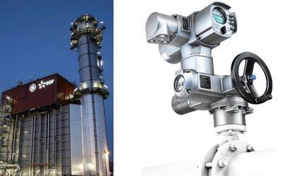 AUMA Foundation Fieldbus actuators support the world's most efficient CCPP