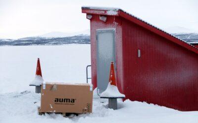 AUMA-Stellantriebe nördlich des Polarkreises