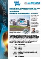 FVZ Hartmann Referenz Power to Gas Uniper DE
