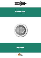 FVZ W-Filter Imagebroschüre DE