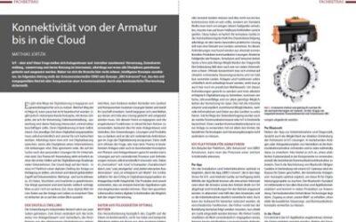 """Fachbericht """"Konnektivität von der Armatur bis in die Cloud"""""""