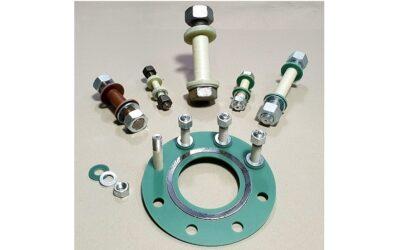 Isolierschrauben für sichere Flanschverbindungen
