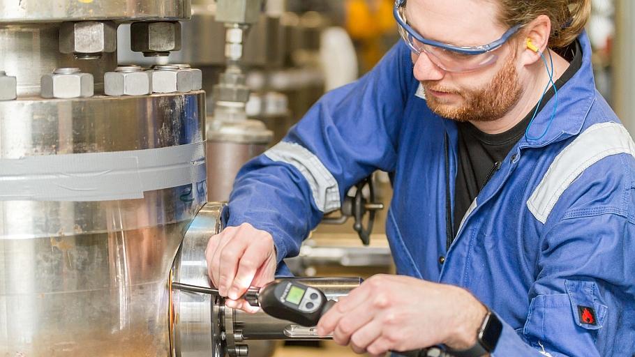 Wasserstoff-Anwendungen: Kugelhähne und standardisierte Prüfverfahren