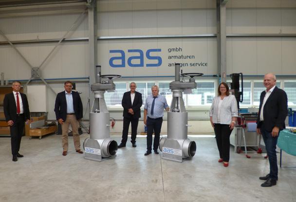 aas: Neues Gebäude schafft Platz für Wachstum
