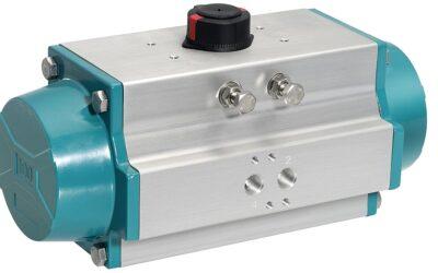 Neue Ventilantriebe für pneumatisch betätigte Schwenkarmaturen