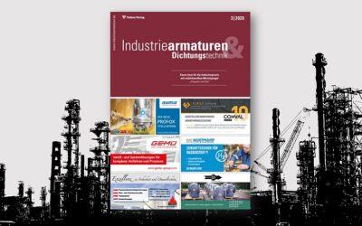 Neuste Ausgabe erschienen: Industriearmaturen für die Praxis
