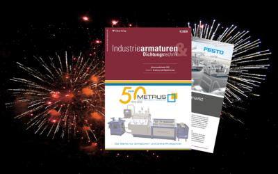 Knaller zum Jahresende: Industriearmaturen 4-2020 ist erschienen