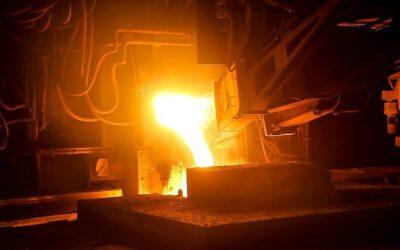 Pumpenschutzarmaturen für die Stahlproduktion