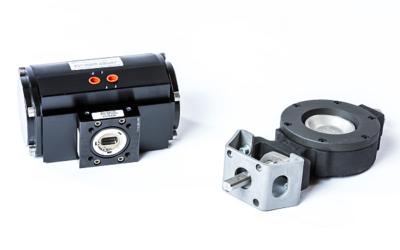 Flexibler Pneumatikantrieb für die schnelle und einfache Automatisierung aller Absperrklappen