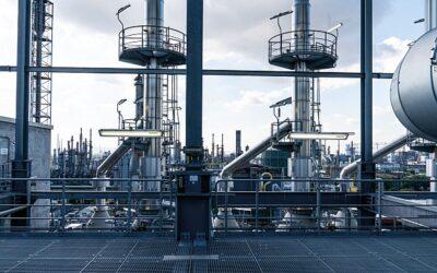 Regelventile von Arca für BASF-Acetylenanlage