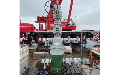 Wasserstoff speichern: Hartmann liefert erste Bohrlochköpfe