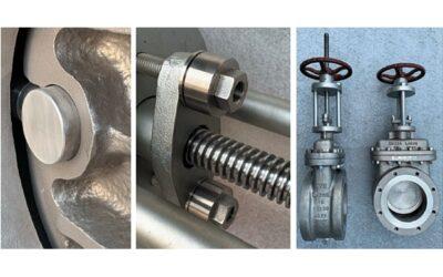 Robuster Single-Seat-Keilschieber zum sicheren Absperren von Rohrleitungen