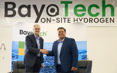 """Emerson und BayoTech produzieren günstigen """"grünen"""" Wasserstoff"""
